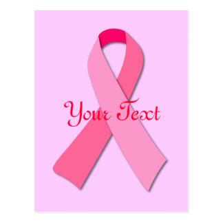 Pink Ribbon Postcard
