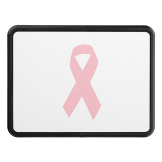 Pink Ribbon Shape Trailer Hitch Cover