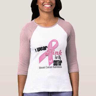 Pink Ribbon Sister Breast Cancer T-Shirt