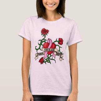 Pink Ribbon Tattoo Shirt