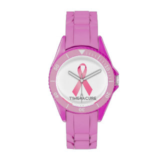Pink Ribbon watch Breast Cancer