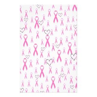 Pink Ribbons,I Care!_ Personalised Stationery