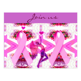 Pink Ribbons of Love & Hope_ Post Cards