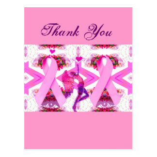 Pink Ribbons of Love & Hope_ Post Card
