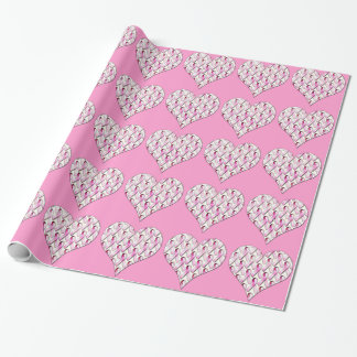 PINK RIBBONS PATTERN