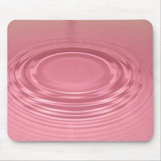 Pink ripple mousepad