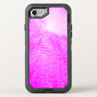 Pink Ripples OtterBox Defender iPhone 7 Case
