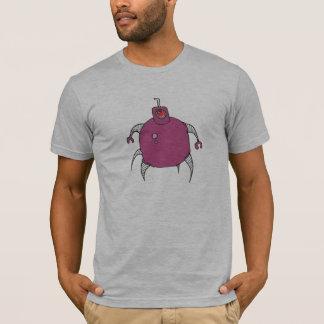 Pink Robot Cyclops Spider T-Shirt