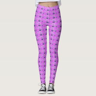 Pink Rockaway Surfboard Lace Leggings