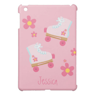 Pink Rollerskates  Case For The iPad Mini