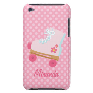Pink Rollerskates iPhone Case