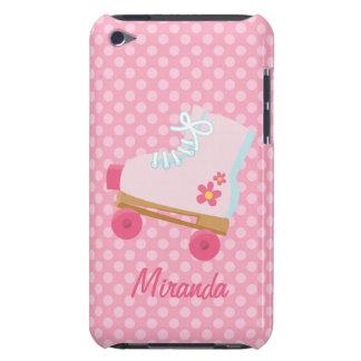Pink Rollerskates iPhone Case