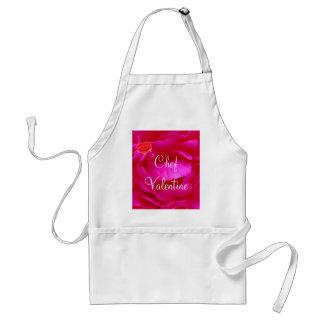 Pink Rose Apron II - Customizable Apron