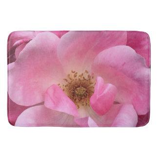 Pink Rose Bath Mats