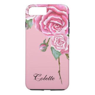Pink Rose Bouquet iPhone 7 Plus Case