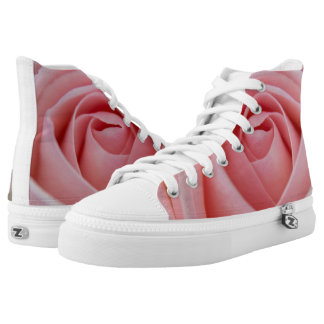 Pink rose Brides sneakers shoes