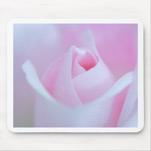 Pink Rose bud created by Tutti Mouse Pads