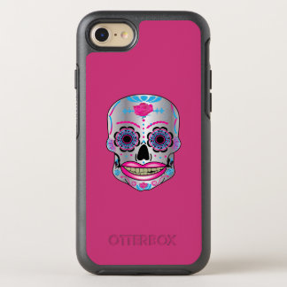 Pink Rose Candy Skull phone Case