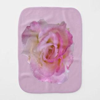 Pink Rose Clothe Burp Cloth