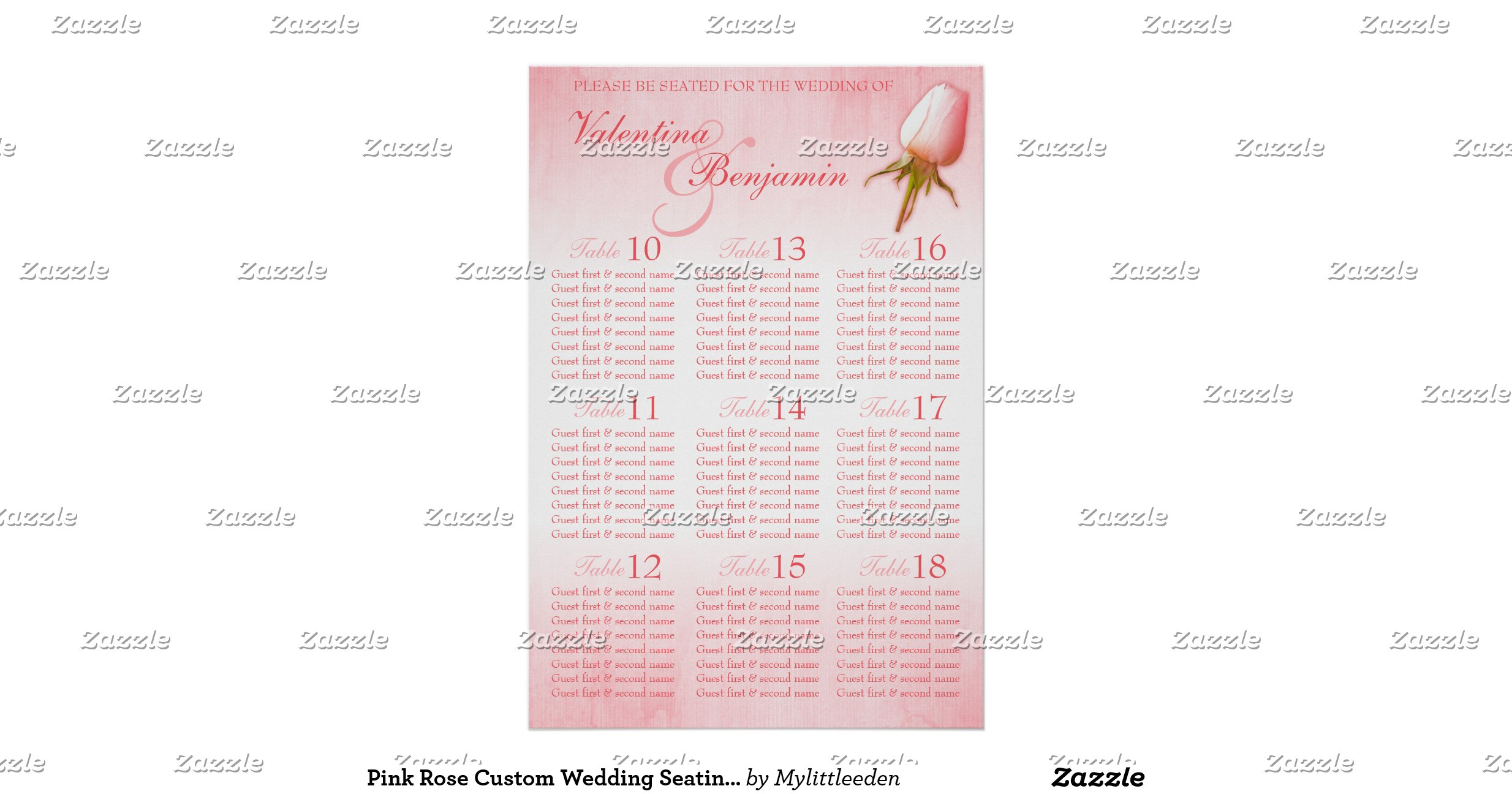wedding seating chart website