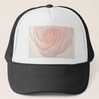 Pink Rose Eye Trucker Hat