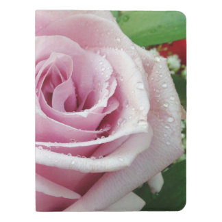 Pink Rose Floral Moleskine Notebook Cover