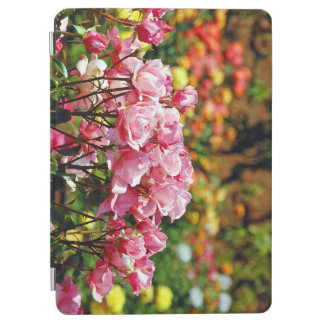 Pink rose garden iPad air cover