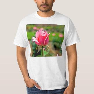 Pink Rose Garden T Shirt