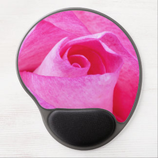 Pink Rose Gel Mouse Mats