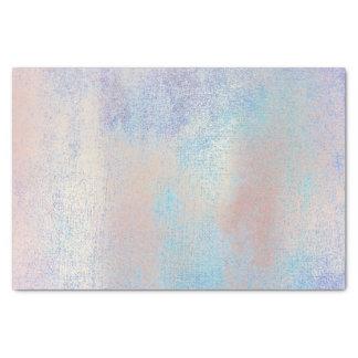 Pink Rose Gold Metallic Blush Blue Ocean Tissue Paper