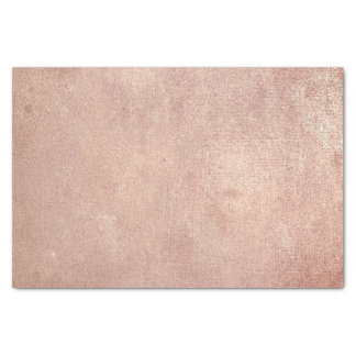 Pink Rose Gold Metallic Blush Powder Copper Peach Tissue Paper