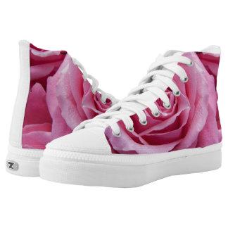 Pink Rose High Tops
