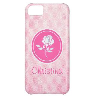 Pink Rose Iphone 5s case-mate case iPhone 5C Case