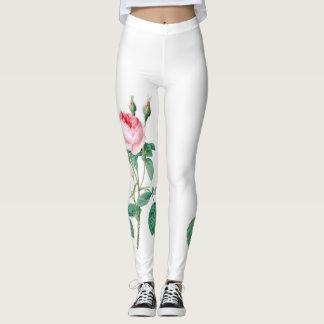 Pink Rose Leggings design#1