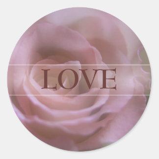 Pink Rose • Love Sticker