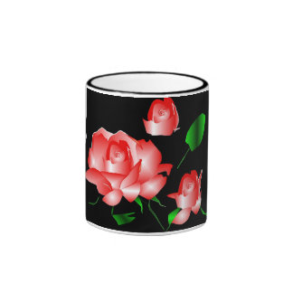 """""""Pink Rose"""" Mug Coffee Mug"""