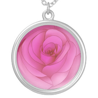 Pink rose jewelry