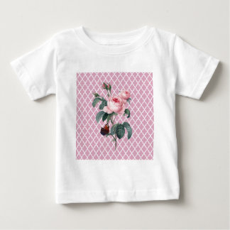 Pink Rose Orient Baby T-Shirt
