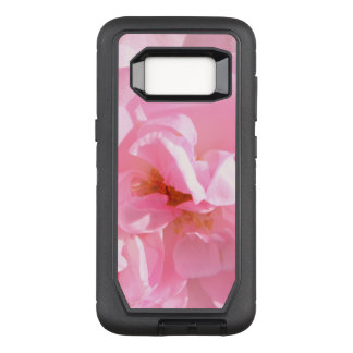 pink rose petals OtterBox defender samsung galaxy s8 case