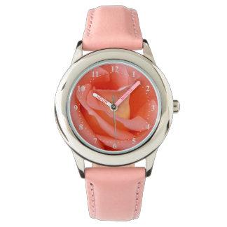 pink rose petals watch