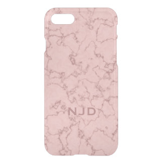 Pink Rose Quartz Marble Personalized iPhone 7 iPhone 7 Case