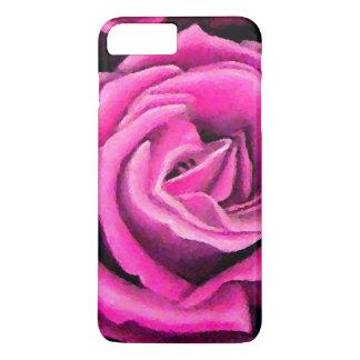 Pink Rose Romantic Pretty Pastel Art iPhone Cases