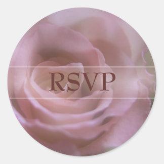 Pink Rose • RSVP Sticker