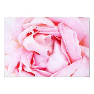 Pink Rose rsvp with envelope Card