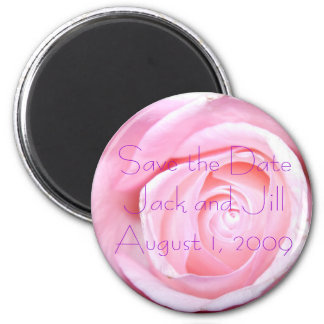 Pink Rose, Save the Date Magnet