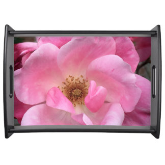 Pink Rose Serving Tray