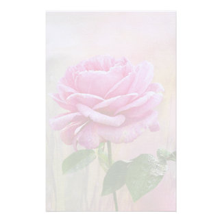 Pink Rose Stationery Paper