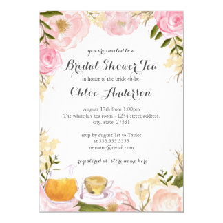 High Tea Invitations & Announcements | Zazzle.com.au