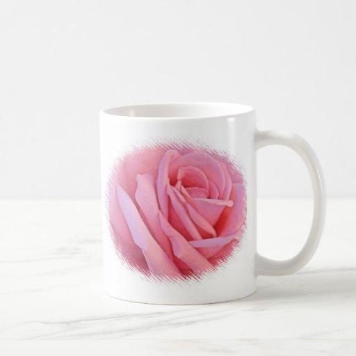 Pink Rose Wedding Mug