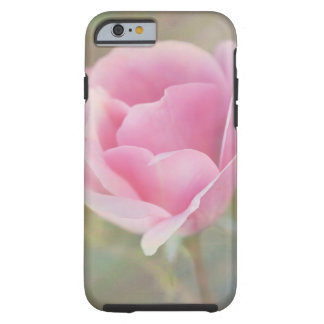 Pink Rose with Painted Texture Tough iPhone 6 Case